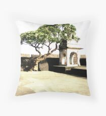Temples of India Throw Pillow