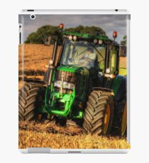 Tractor and the Baler iPad Case/Skin