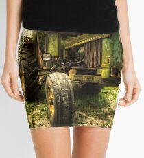 Battered JD Mini Skirt