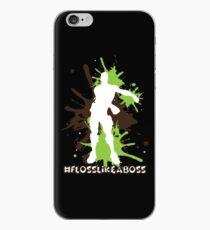 Vinilo o funda para iPhone Floss Dance - Floss Like a Boss - Verde / Marrón