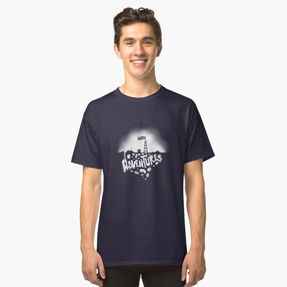 Time for Adventures Underground Classic T-Shirt