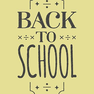 Back To School by overstyle