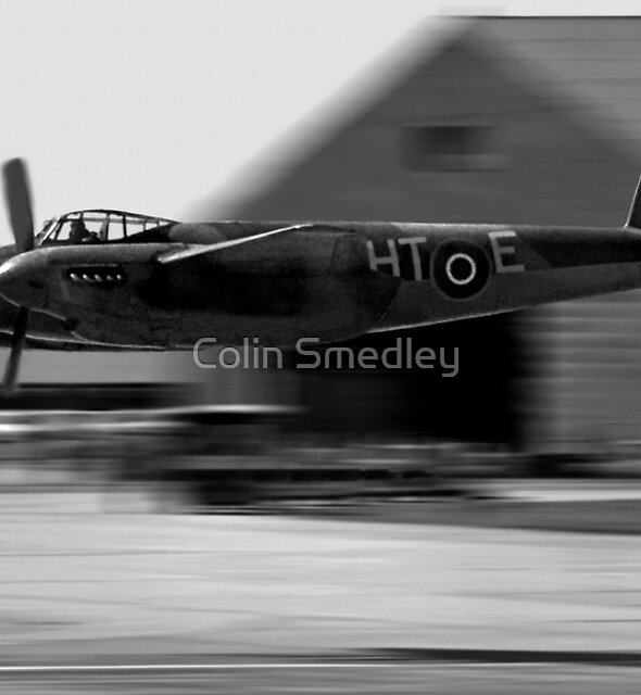 Mosquito beat-up at Greenham Common by Colin Smedley