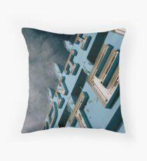 Frontier Motel Throw Pillow