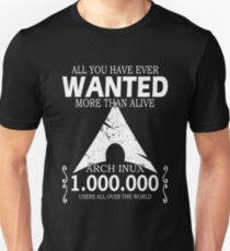 Arch Linux Most Wanted AUR  Unisex T-Shirt