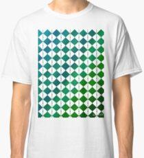 sdd Pattern 3K blue green tones Classic T-Shirt