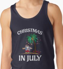Funny Christmas Tank Tops.Christmas In July Tank Tops Redbubble