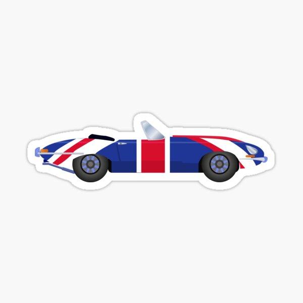 coche de la película Austin Powers Pegatina