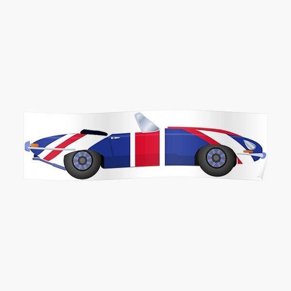coche de la película Austin Powers Póster