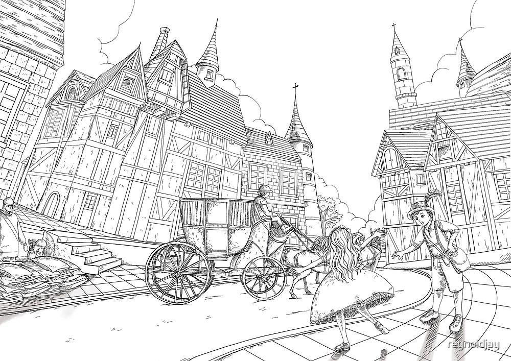 The Bavarian Village by reynoldjay