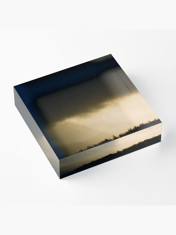 Bloc acrylique ''Lumière Ecossaise': autre vue