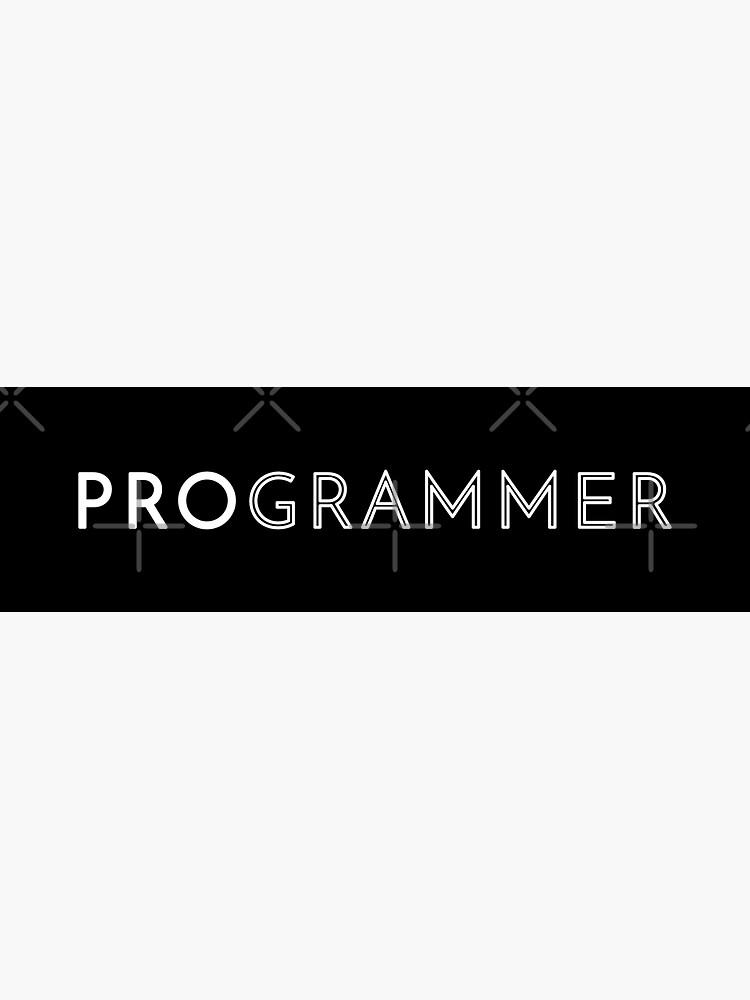 Programmer by developer-gifts