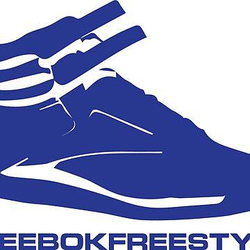 Reebok Freestyle Sneaker in Blue #reebokfreestyle by Swaygo