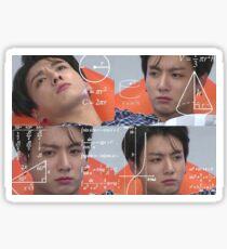 Jungkook Confused Meme Sticker Sticker