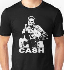 Johnny Cash, Middle Finger Unisex T-Shirt