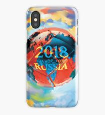 FIFA 2018 world cup Russia soccer ball iPhone Case