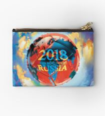 FIFA 2018 world cup Russia soccer ball Studio Pouch