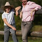 Country Pose by Cherie Carlson