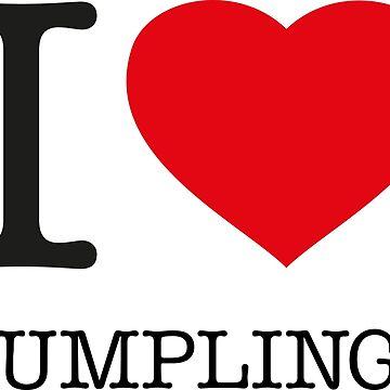 I ♥ DUMPLINGS by eyesblau