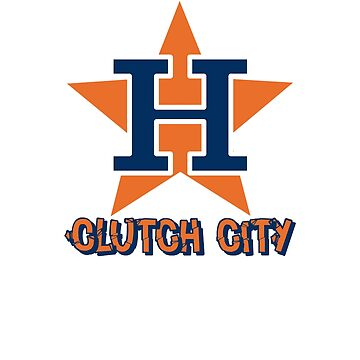 Clutch City Houston T Shirt by ravishdesigns