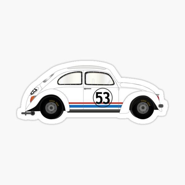 coche de película Herbie Pegatina