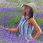 Lady In Lavender by Beverley Barrett
