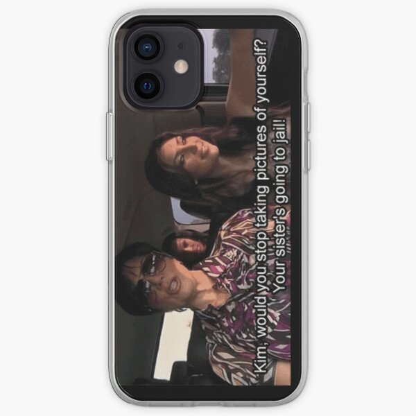 your sister's going to jail! iPhone Soft Case