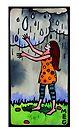 Girl Welcoming Rain by TangerineMeg