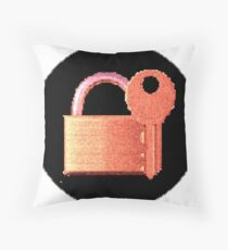 Securitii emoji 10 by RootCat (pinkii) Floor Pillow