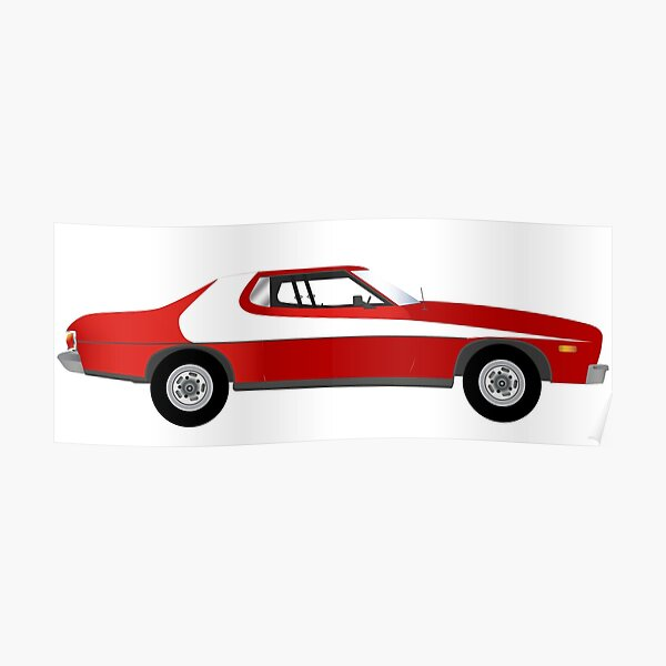 coche pelicula starsky y hutch Poster