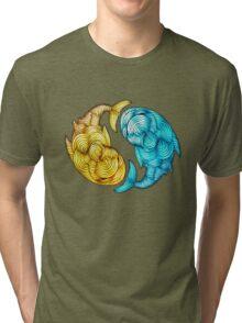 Whale Fish Tri-blend T-Shirt