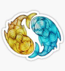 Whale Fish Sticker