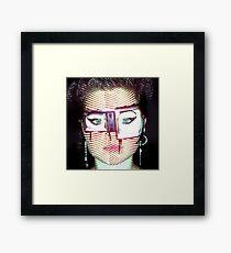 telly daze Framed Print