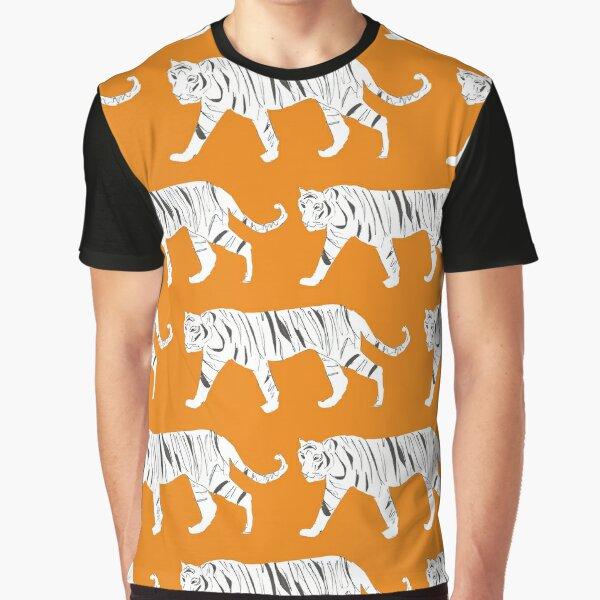 Tiger Print Graphic T-Shirt