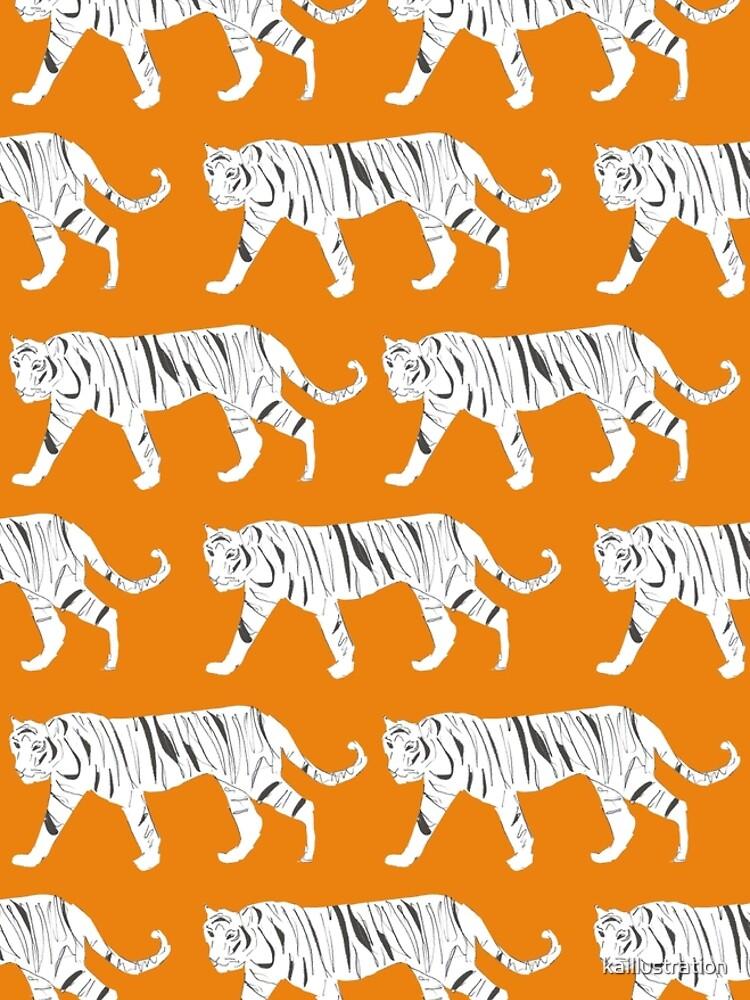Tiger Print by kaillustration