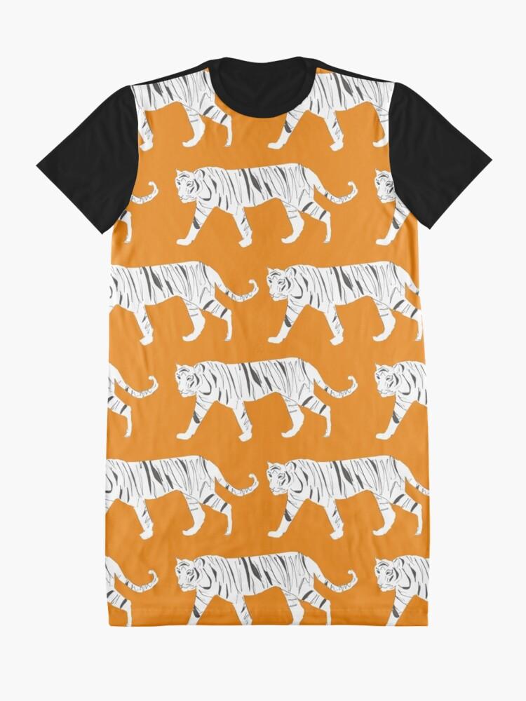 Alternate view of Tiger Print Graphic T-Shirt Dress
