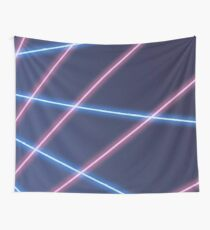 90s Laser Beam Picture Day Background | Retro | Oldschool Wall Tapestry