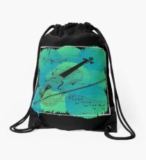 Violin Drawstring Bag