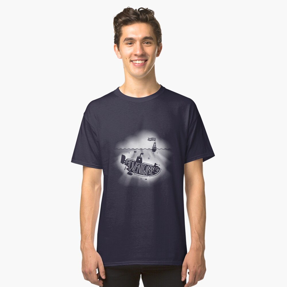 Time for Adventures under the Sea Classic T-Shirt