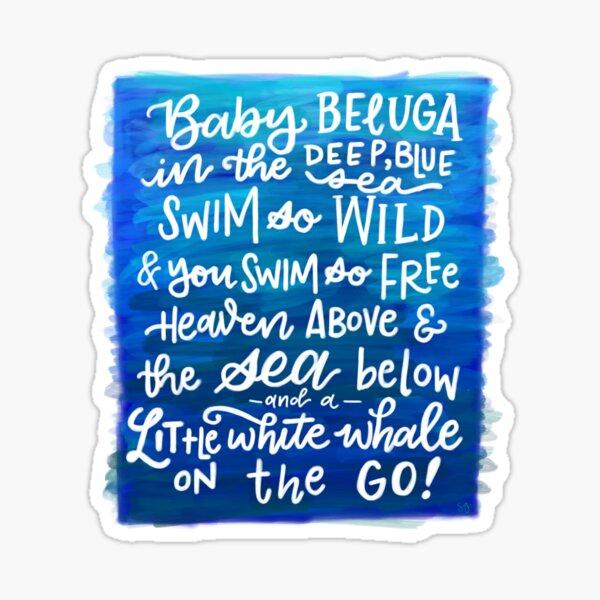 Baby Beluga Sticker