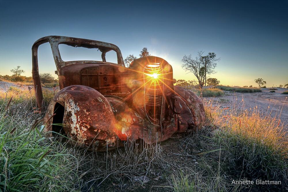 Old Wreck by Annette Blattman