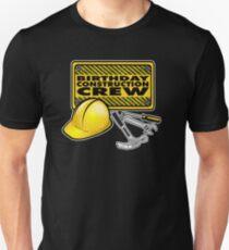Construction Crew Themed Birthday Party Shirt Unisex T