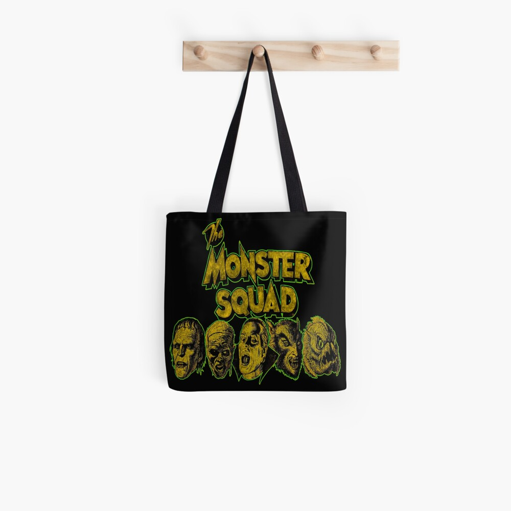Monster Squad Magnificent Yellow Tote Bag