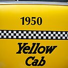 1950 yellow cab by emohoc