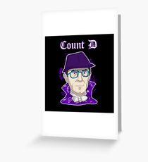 Count D in new Style Greeting Card