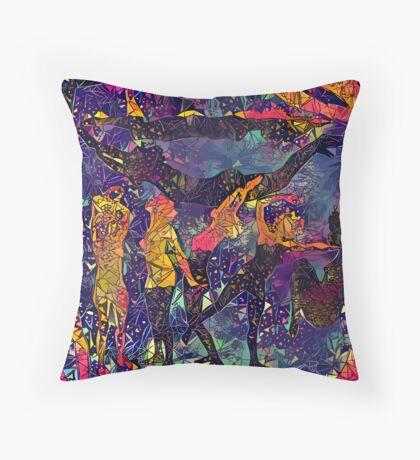 Abstract Summer Pack Floor Pillow