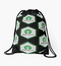 Open Source Badge x4 Drawstring Bag