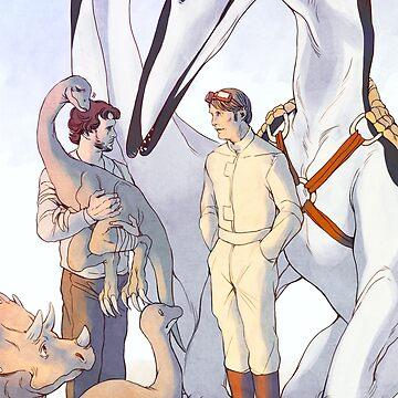 Dinotopia X Hannibal by FlyingRotten