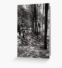 Montmartre, Paris Greeting Card