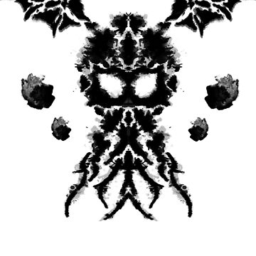 Call of Cthulhu Ink Blot | HP Lovecraft by JustSandN